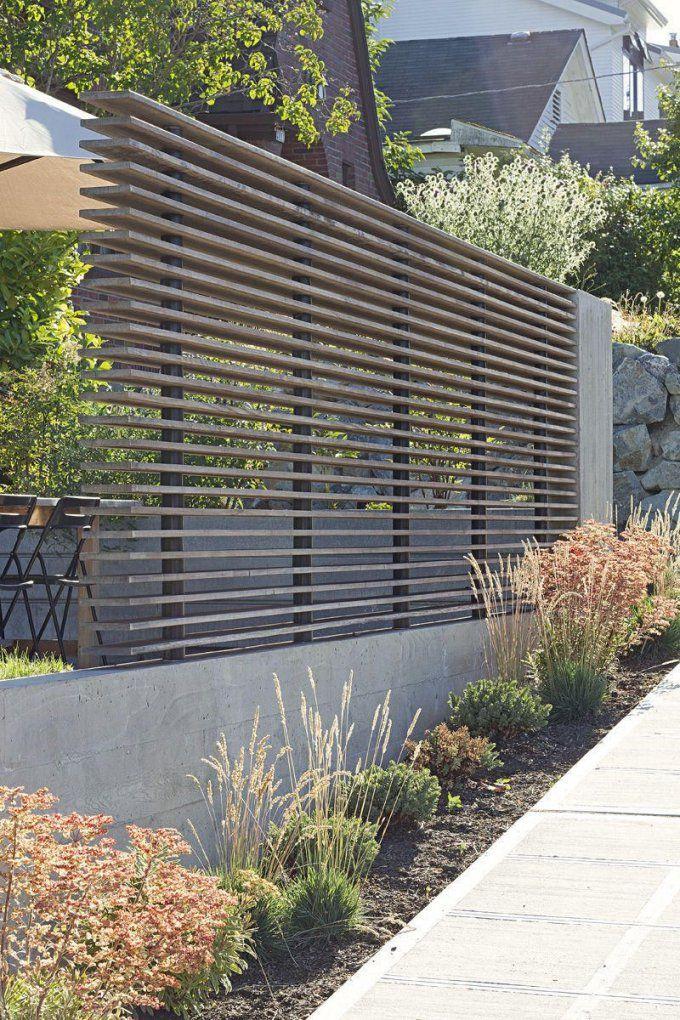 60 Atemberaubende Ideen Für Gartenzäune  Sichtschutzzaun von Atemberaubende Ideen Für Den Garten Bild