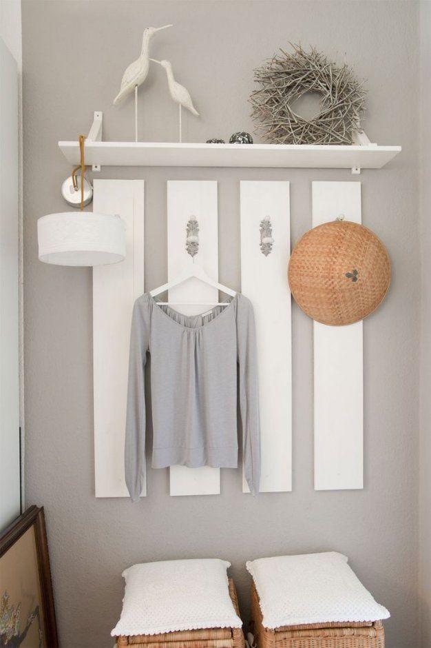 60 Besten Wohnen Garderobe Bilder Auf Pinterest  Diele Wohnideen von Holz Garderobe Selber Machen Photo