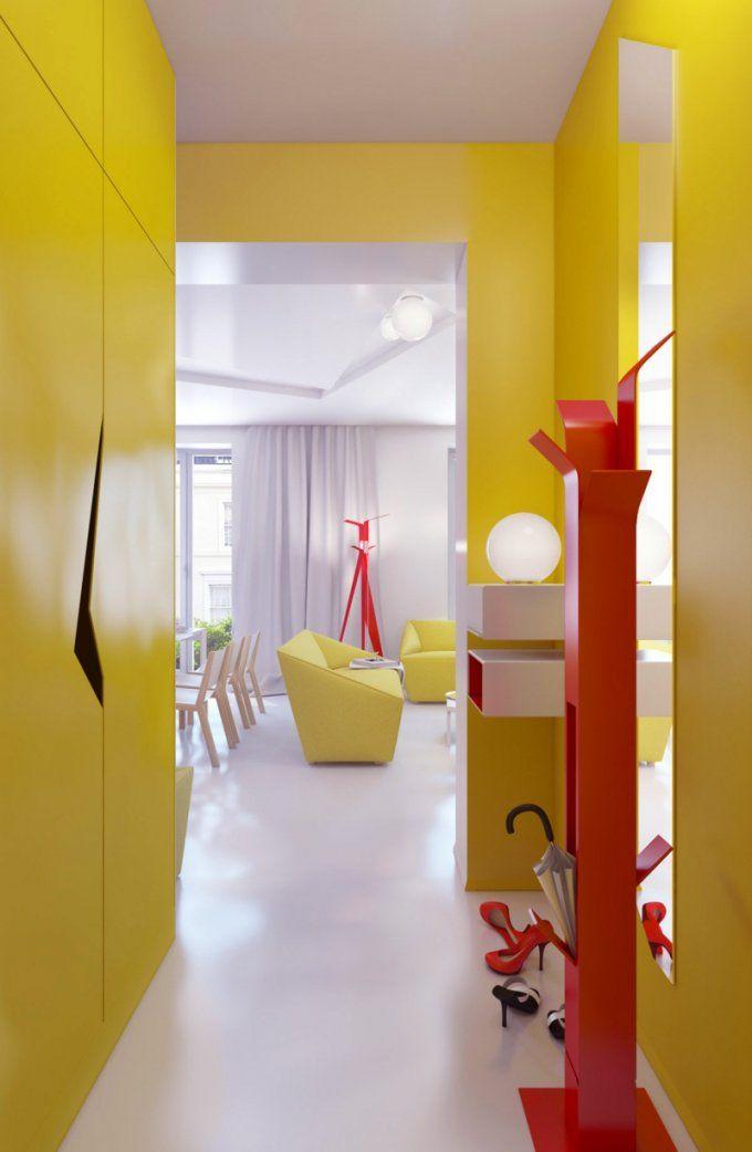 62 Ideen Für Farbgestaltung Im Flur Und Eingangsbereich von Farben Für Den Flur Bild