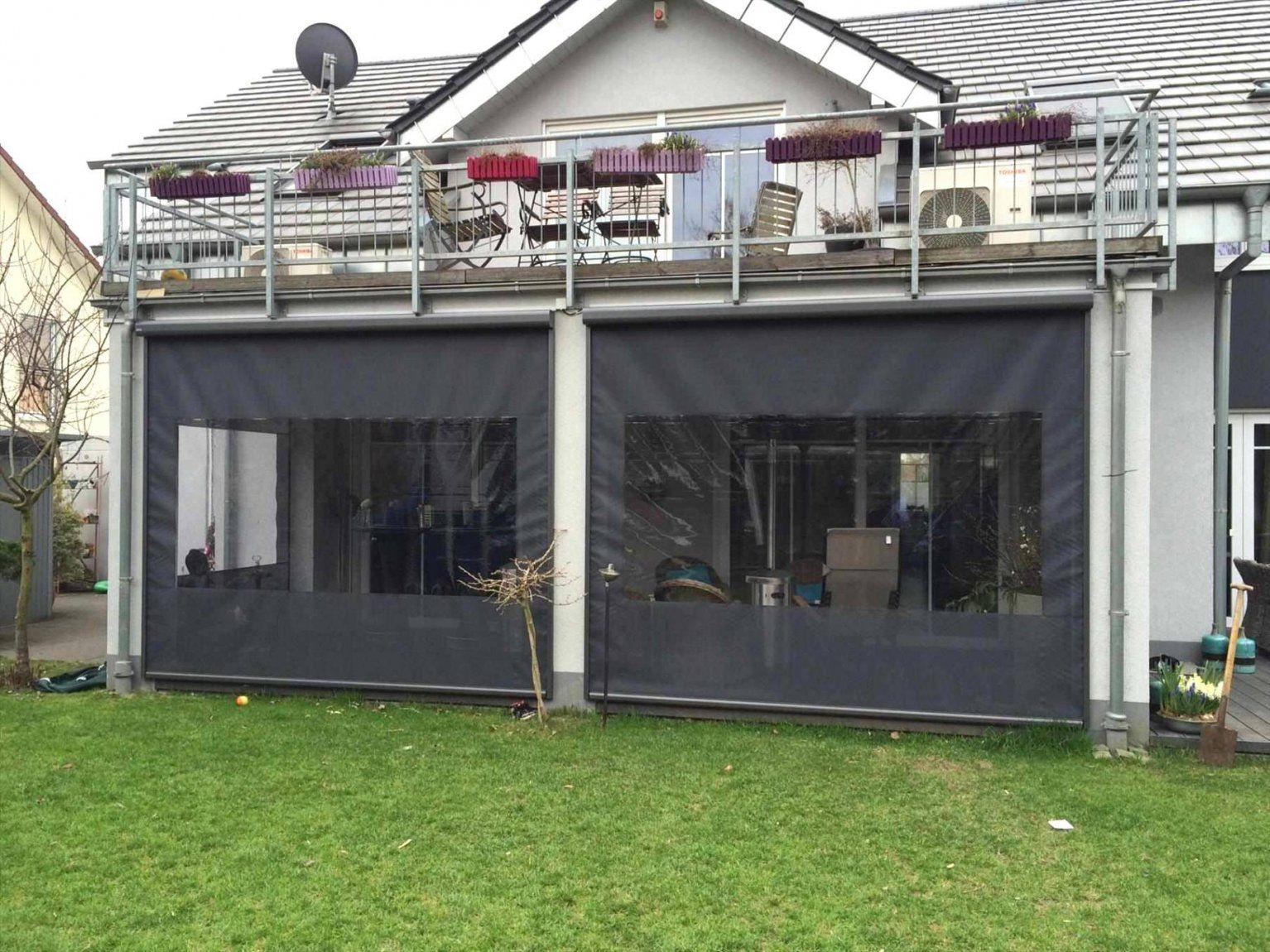 64 Inspirational Regenschutz Terrasse Selber Bauen Wccp Von Balkon