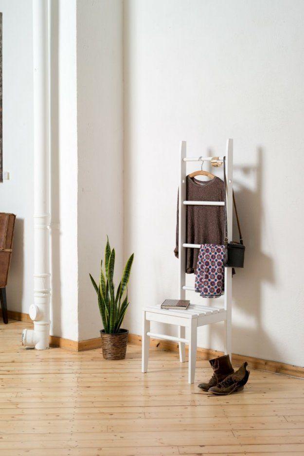 70 Besten Kleiderleiter & Kleiderstuhl Inspiration Bilder Auf von Ablage Für Kleidung Im Schlafzimmer Bild