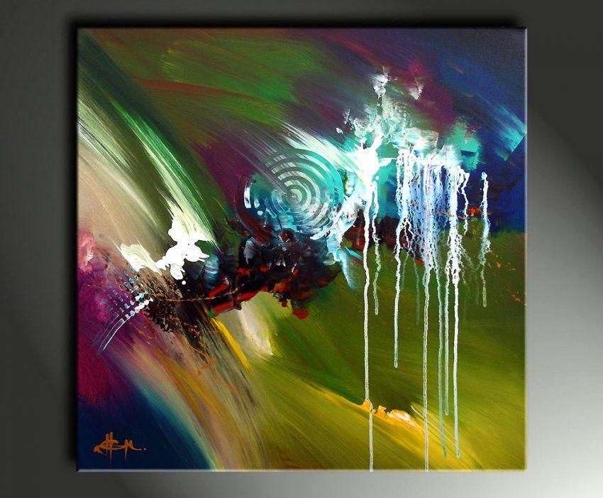 99 Acrylbilder Abstrakt Malen Ideen von Acrylbilder Selber Malen Für Anfänger Bild