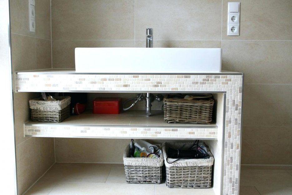 99 Waschtischunterschrank Mit Aufsatzwaschbecken Ideen von Waschtisch Selber Bauen Bauplatten Photo