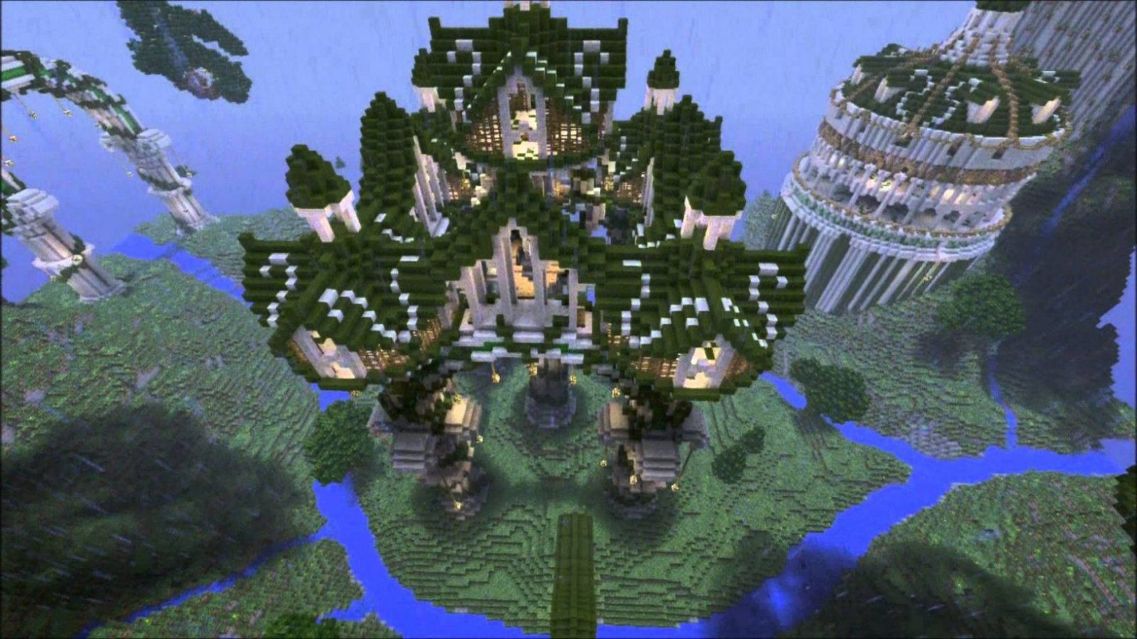 Aandovale Grove Pc Converted Map (Minecraft Ps3 Ps4 Map Download) von Minecraft Seeds Ps4 Castle Photo