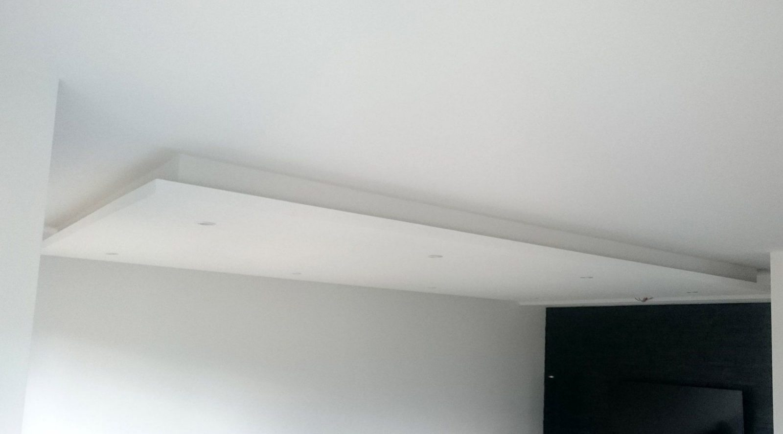 Abgehängte Decke Mit Indirekter Beleuchtung (Lichtvouten) Selber Machen von Indirektes Licht Selber Bauen Bild