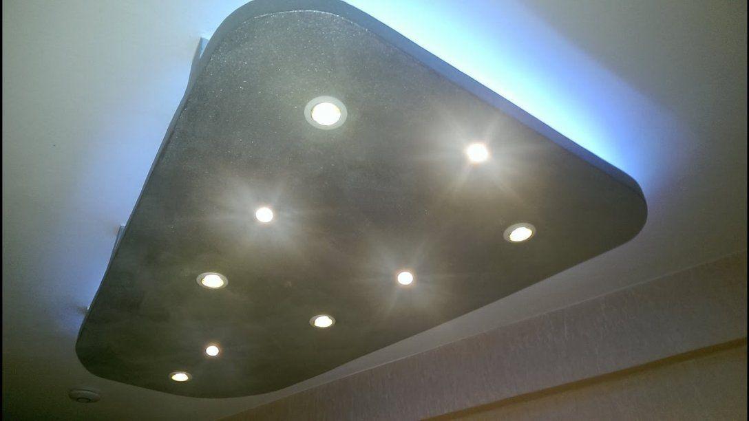 Abgehängte Decke Mit Indirekterbeleuchtung Led Spots  Rgb Led von Indirekte Beleuchtung Abgehängte Decke Bild
