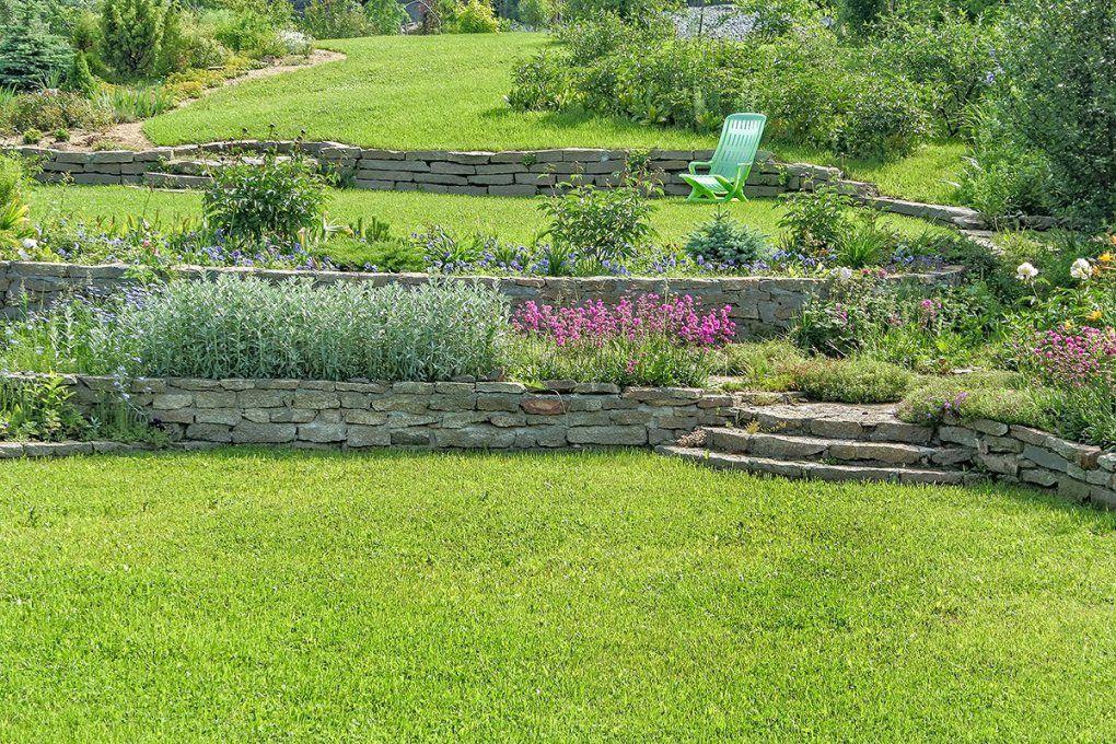 Abschüssigen Garten Gestalten  Zuhause Bei Sam® von Garten Am Hang Selbst Anlegen Photo
