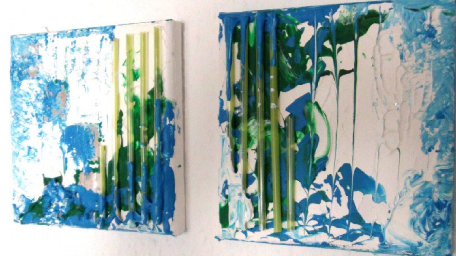 Abstrakt Malen Mit Acryl (Abstract Painting With Acrylic)[Hd]  Youtube von Abstrakte Acrylbilder Selber Malen Bild