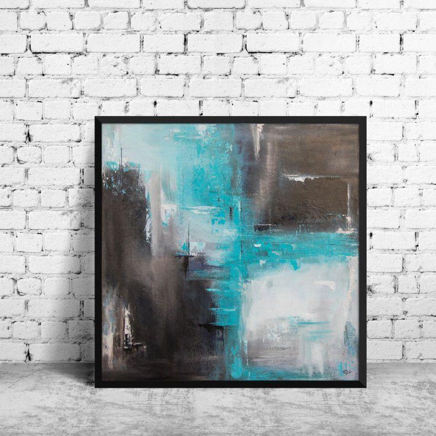 Abstrakte Acrylmalerei  Abstrakte Acrylmalereien Acrylmalerei Und von Bilder Leinwand Abstrakt Keilrahmen Photo