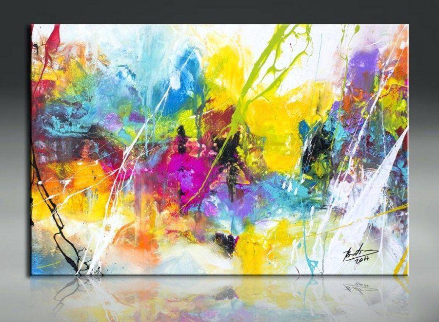 Abstrakte bilder selber malen haus design ideen - Abstrakte bilder leinwand ...
