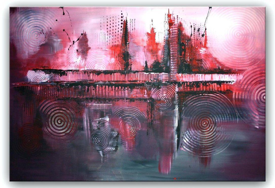 Abstrakte Gemalde Modern Abstrakt Lila Acrylmalerei Moderne Malerei von Bilder Acryl Modern Abstrakt Photo