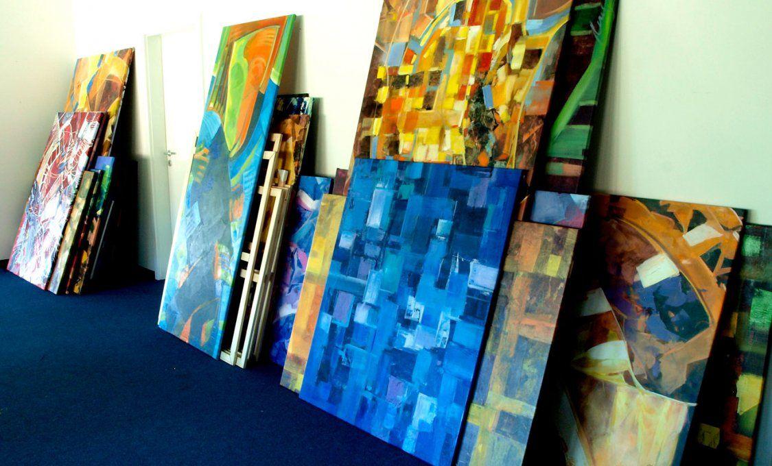 Abstrakte Malerei  Kunstarena von Abstrakte Bilder Selber Malen Photo