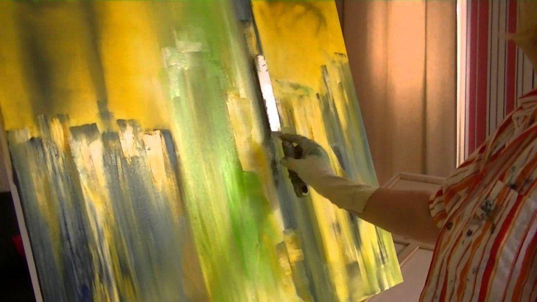 Abstrakte Malerei Lernen Speed Version  Youtube von Abstrakte Acrylbilder Selber Malen Photo