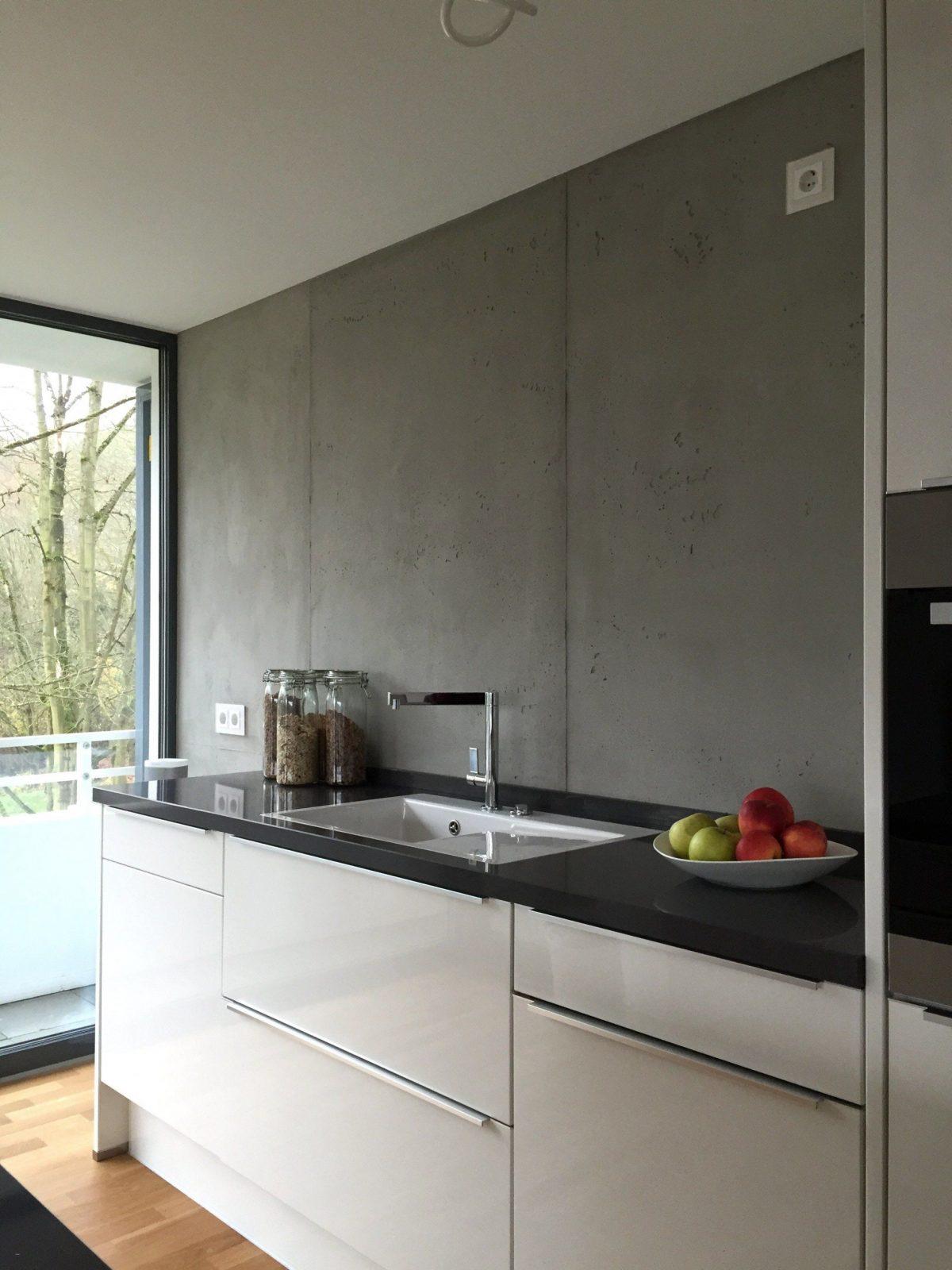 Abwaschbare Farbe Statt Fliesen Küche Awesome Abwaschbare Wandfarbe ...