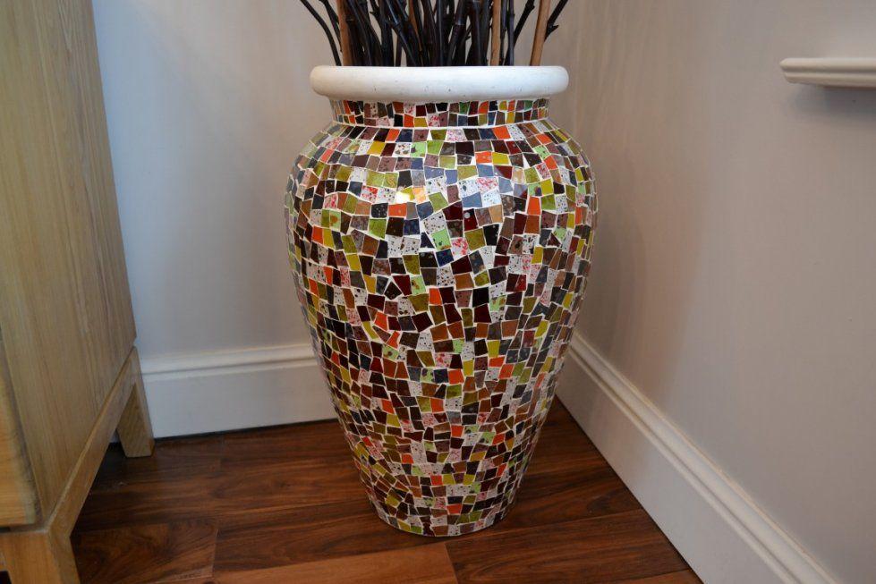 Accessories Tall Glass Floor Vase  Set Of 3 Floor Vases  Floor Vases von Giant Vases For The Floor Photo