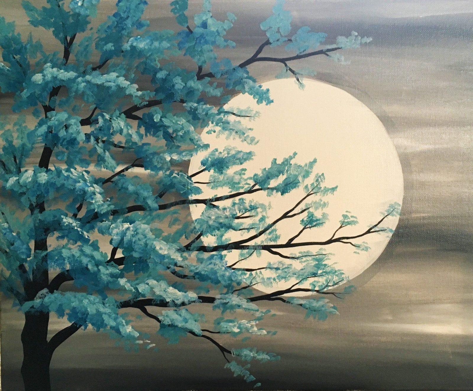 Afficher L'image Source  Fleurs  Pinterest  Acryl Malen Und Zeichnen von Acrylbilder Selber Malen Ideen Bild