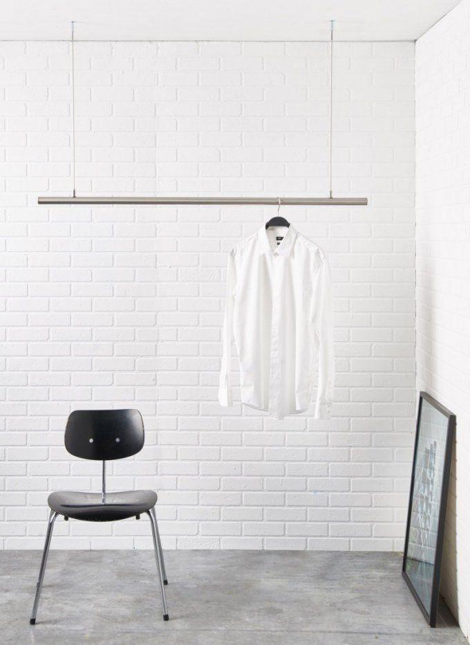 Airjust® Die Schwebende Kleiderstange Für Die Decke Ideal Als von Kleiderstange Von Der Decke Bild
