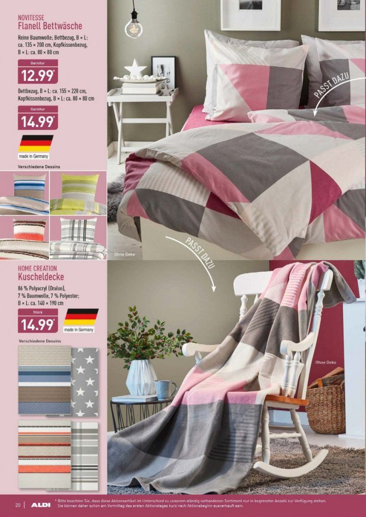 Aldi Angebote Bettwäsche | Haus Design Ideen