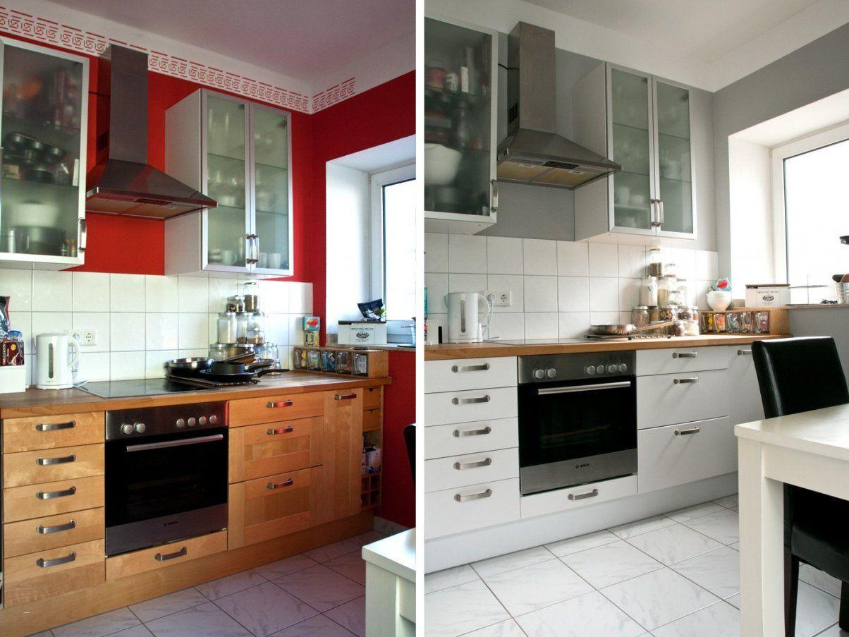 Alte Küche Neu Gestalten Vorher Nachher Großartig Emejing Alte Küche von Küche Neu Streichen Und Gestalten Bild