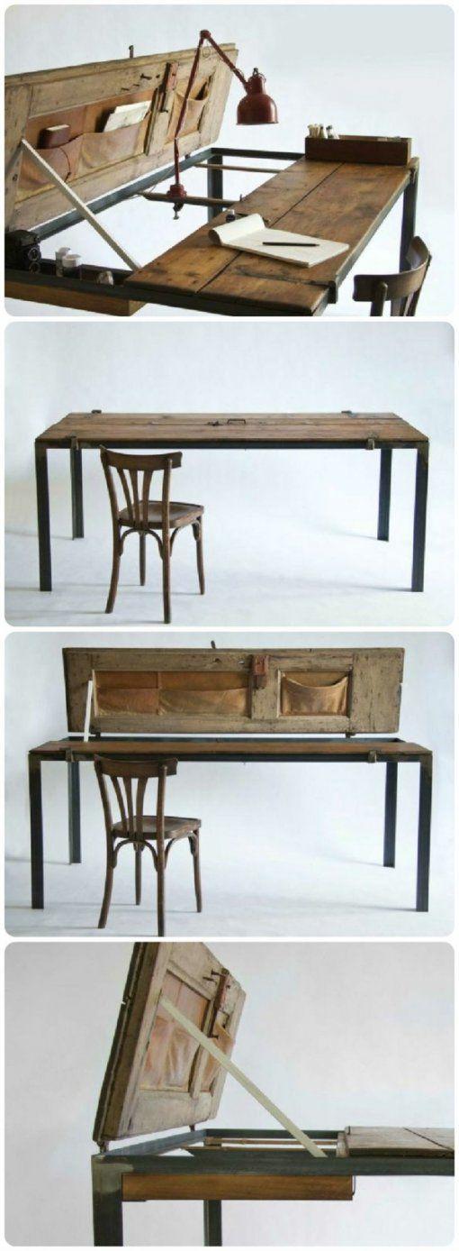 alten tisch neu gestalten haus design ideen. Black Bedroom Furniture Sets. Home Design Ideas