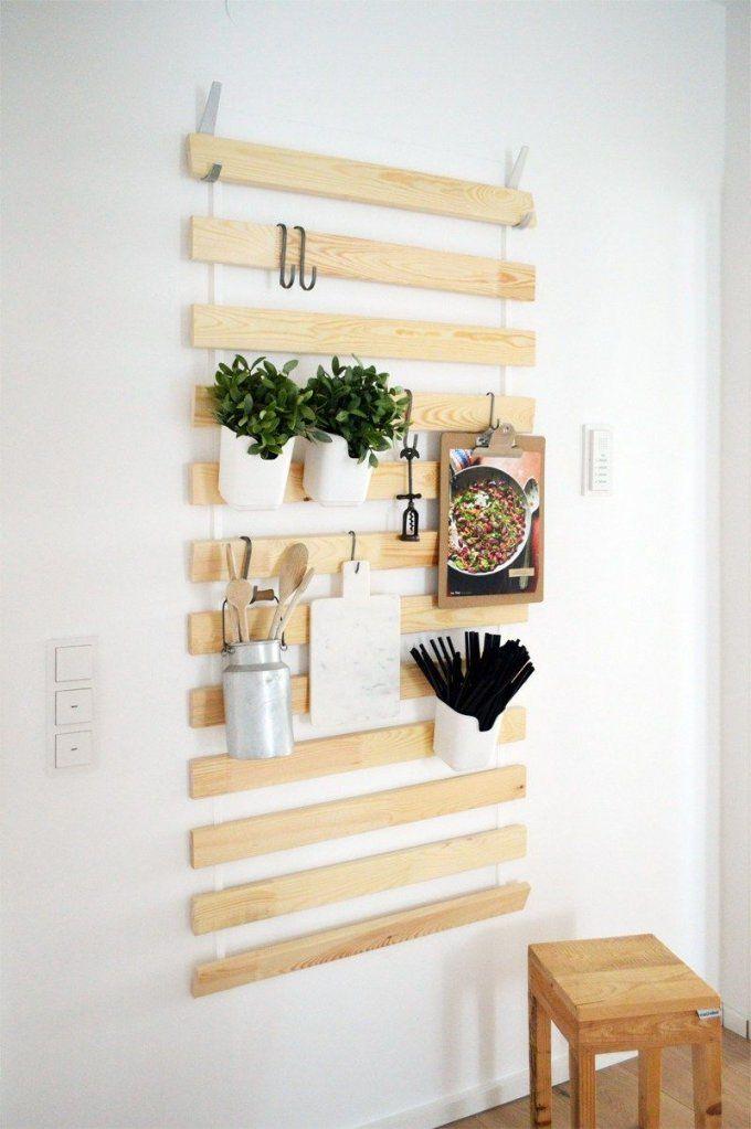 Altes Lattenrost Fuer Die Küche X Ikea Hack Sultan Lade Diy Regal (3 von Ikea Wandregal Weiß Küche Bild