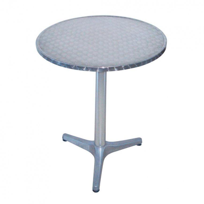 Alu Bistrotisch Bistro Tisch Rund Ø 60 Cm H 70 Cm  Real von Bistrotisch Rund 60 Cm Photo