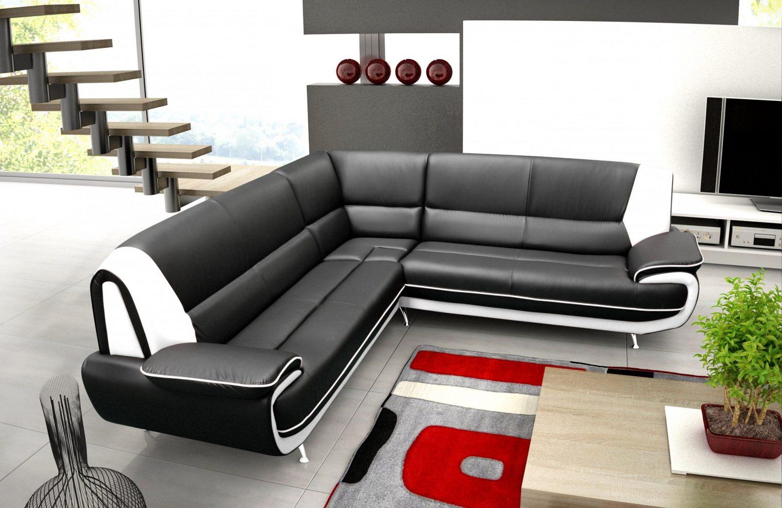 Amazing Idea Schwarz Weiß Sofa Weiss Leder Sofadecke Sofakissen von Sofa Schwarz Weiß Gestreift Photo