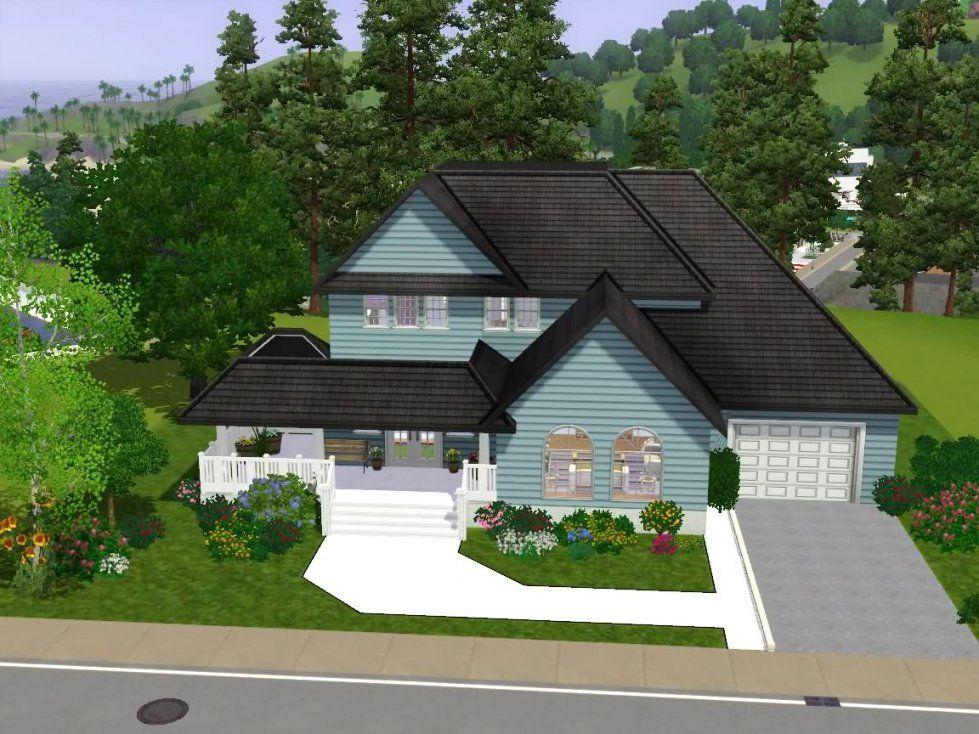 American Haus  Das Große Sims 3 Forum Von Und Für Fans von Sims Häuser Zum Nachbauen Bild