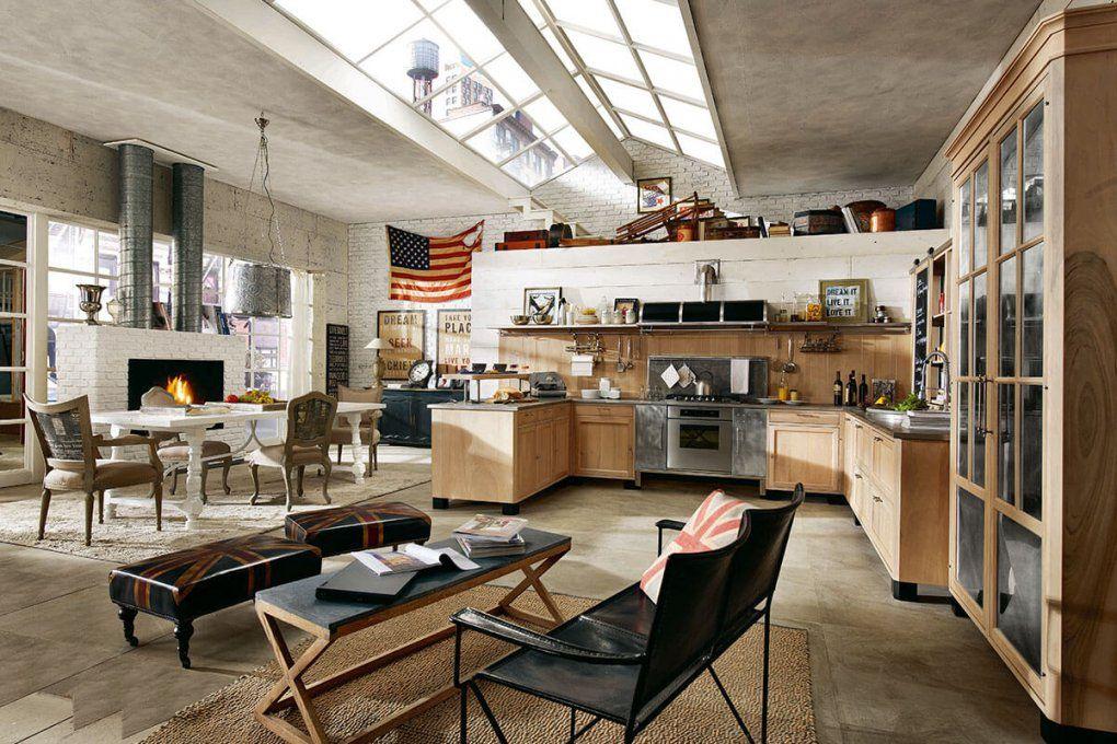 Amerikanische Küchen Landhausstil – Edle Landhausküchen von Küchen Im Vintage Stil Photo