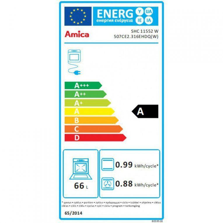 Amica  Elektrostandherd  Shc 11552 W Jetzt Online Kaufen von Amica Shc 11552 W Photo