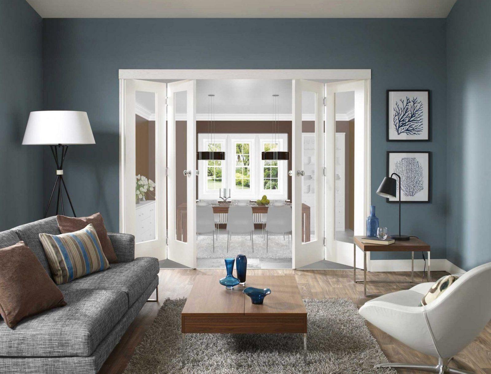 Andere Auf Wand Blaue Wandfarbe Graue Möbel Letztere Plus Mobel von Graue Möbel Welche Wandfarbe Bild