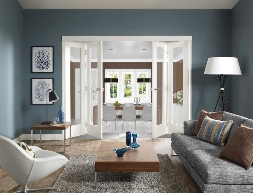 Andere Innerhalb Wand Blaue Wandfarbe Graue Möbel Letztere Plus von Welche Wandfarbe Passt Zu Grauen Möbeln Photo