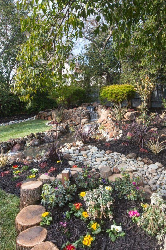 Steingarten anlegen mit vlies free beautiful steingarten anlegen mit vlies ideas new home - Steingarten anlegen aufbau ...