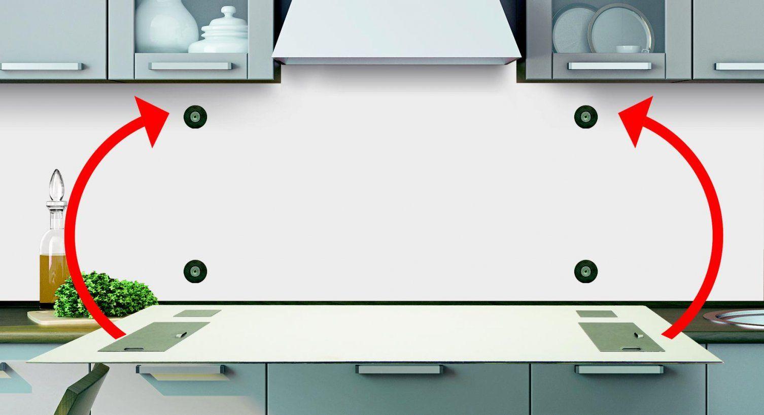 Anleitung Fachgerechte Befestigung Küchenrückwand  Frag Mutti von Spritzschutz Küche Plexiglas Selber Machen Photo