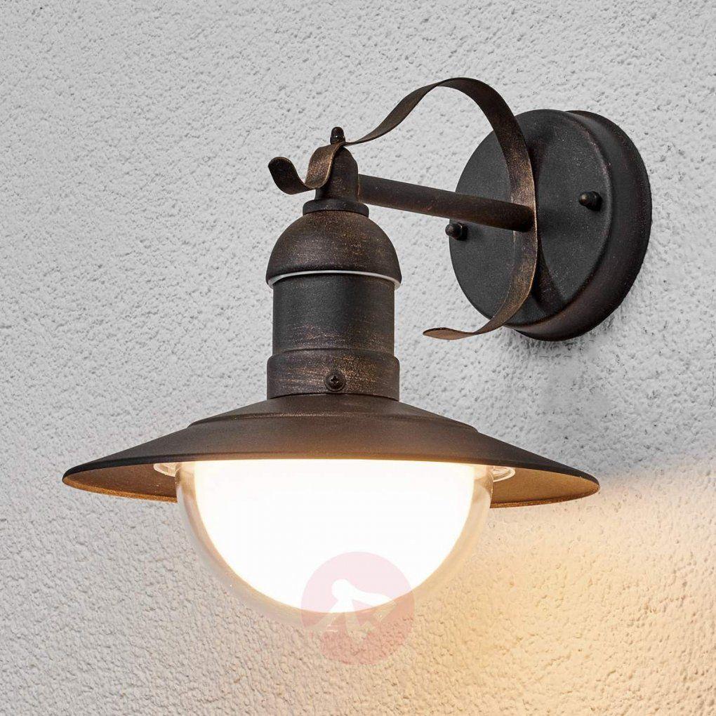 Antik Wirkende Ledaußenwandleuchte Clea Kaufen  Lampenweltch von Außenleuchte Mit Bewegungsmelder Antik Bild
