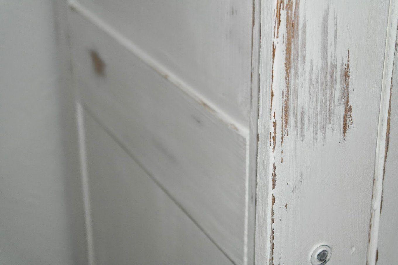 Antike Möbel Weiß Lasieren  Rheumri von Kiefer Gelaugt Geölt Weiß Streichen Bild