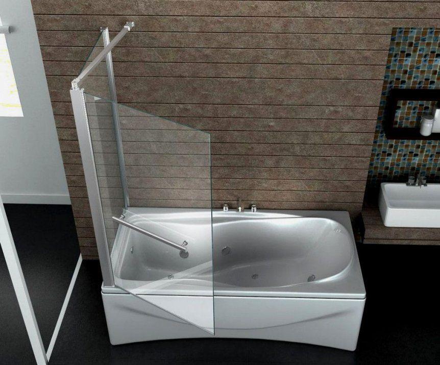 Appealing Gross Duschabtrennung Fuer Badewannen Badewanne von Duschaufsatz Für Badewanne Ohne Bohren Photo