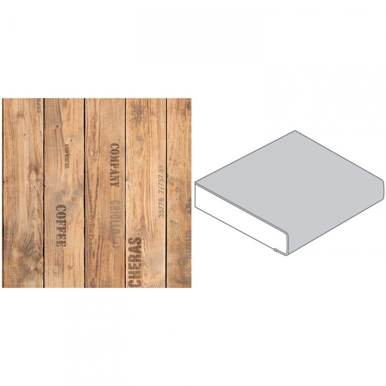 Arbeitsplatte 60 Cm X 39 Cm Holzkiste Holznachbildung (Fi 420 von Arbeitsplatten Nach Maß Obi Bild