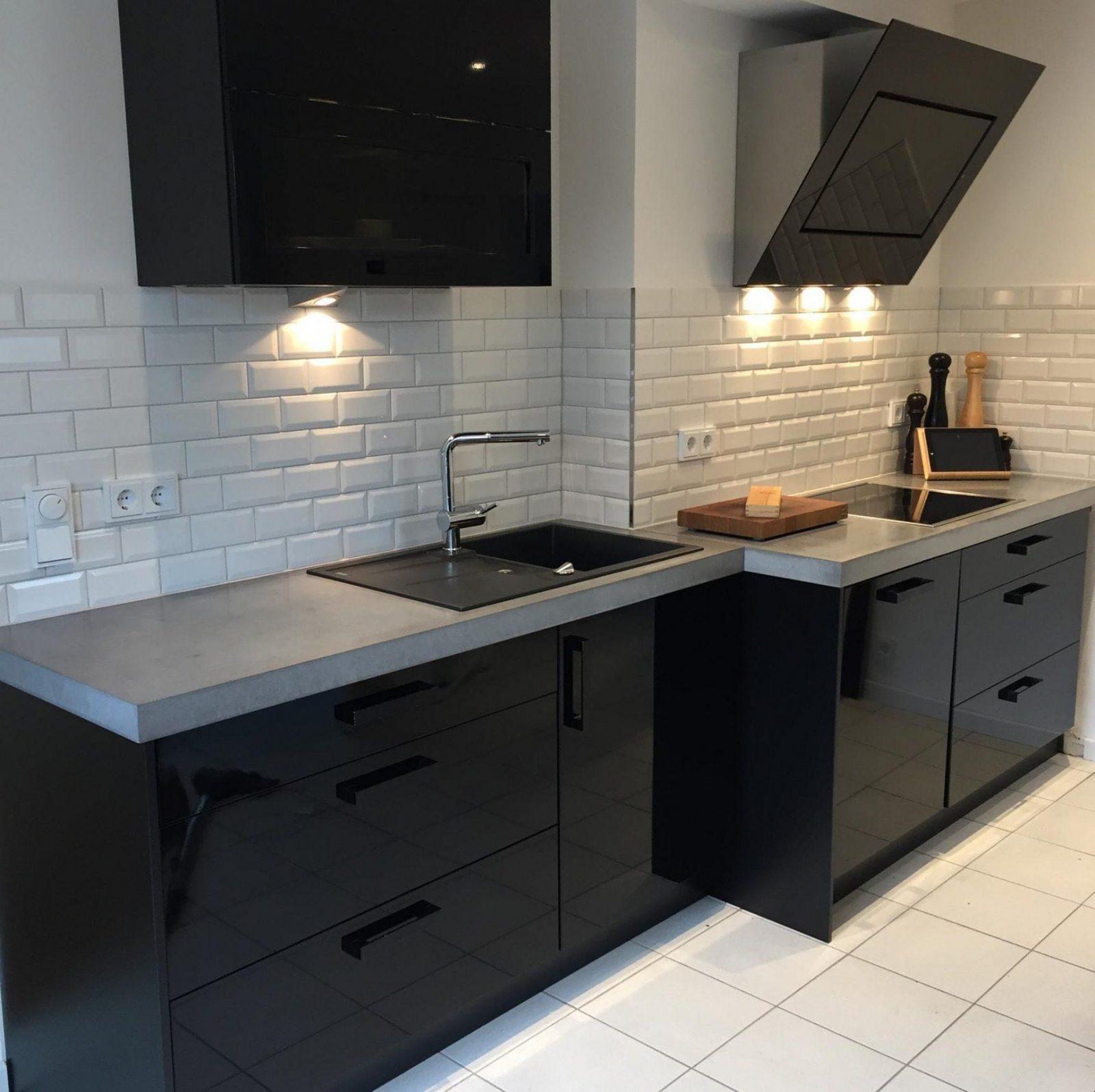 arbeitsplatten aus beton diy anleitung mit betonrezept bigmeatlove von arbeitsplatte aus beton. Black Bedroom Furniture Sets. Home Design Ideas