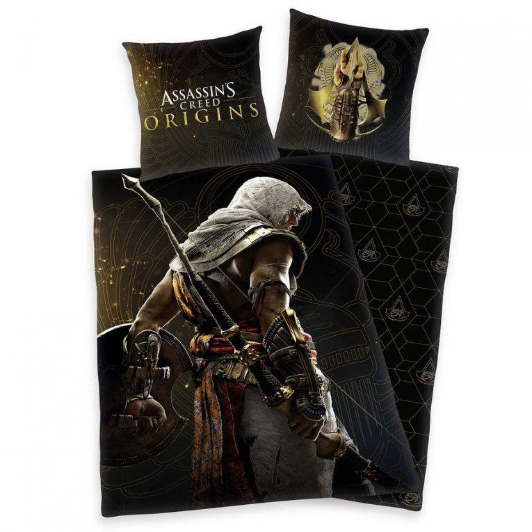 Assassin's Creed Bettwäsche Origins  Bettwäsche & Kissen Jetzt Im von Herr Der Ringe Bettwäsche Photo