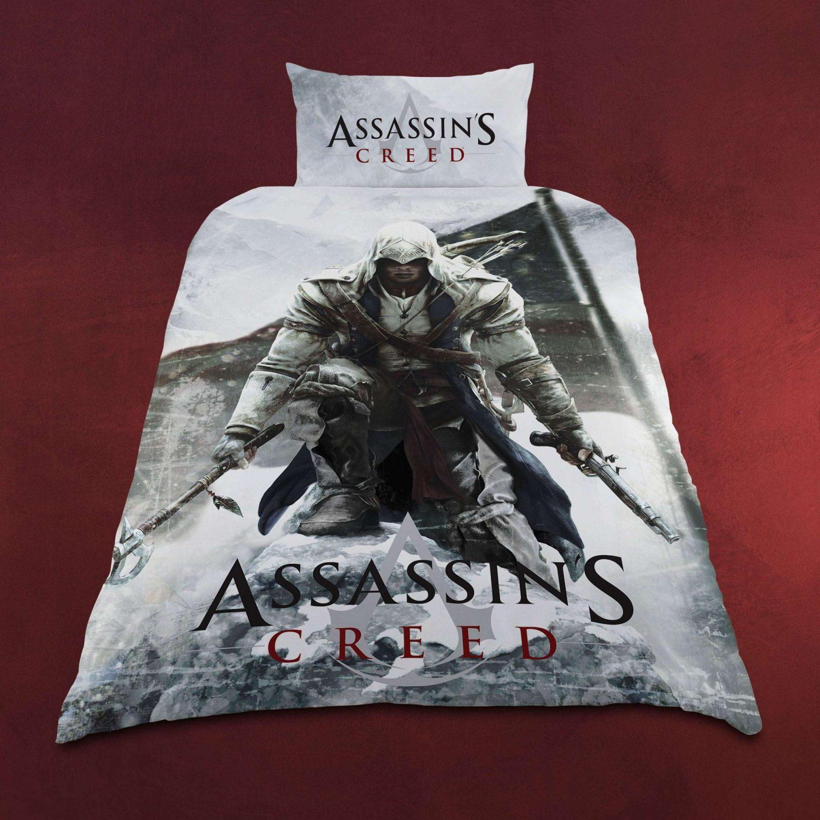 Assassins Creed  Logo Wendebettwäsche  Elbenwald von Assassins Creed Bettwäsche Photo