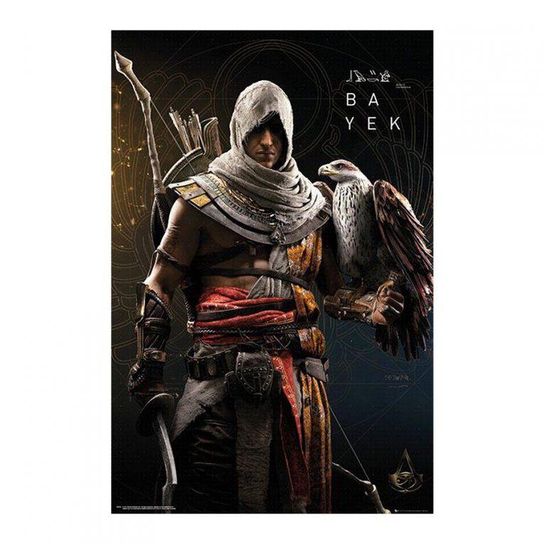 Assassin's Creed Origins Poster Bayek  Poster Großformat Jetzt Im von Assassins Creed Bettwäsche Bild