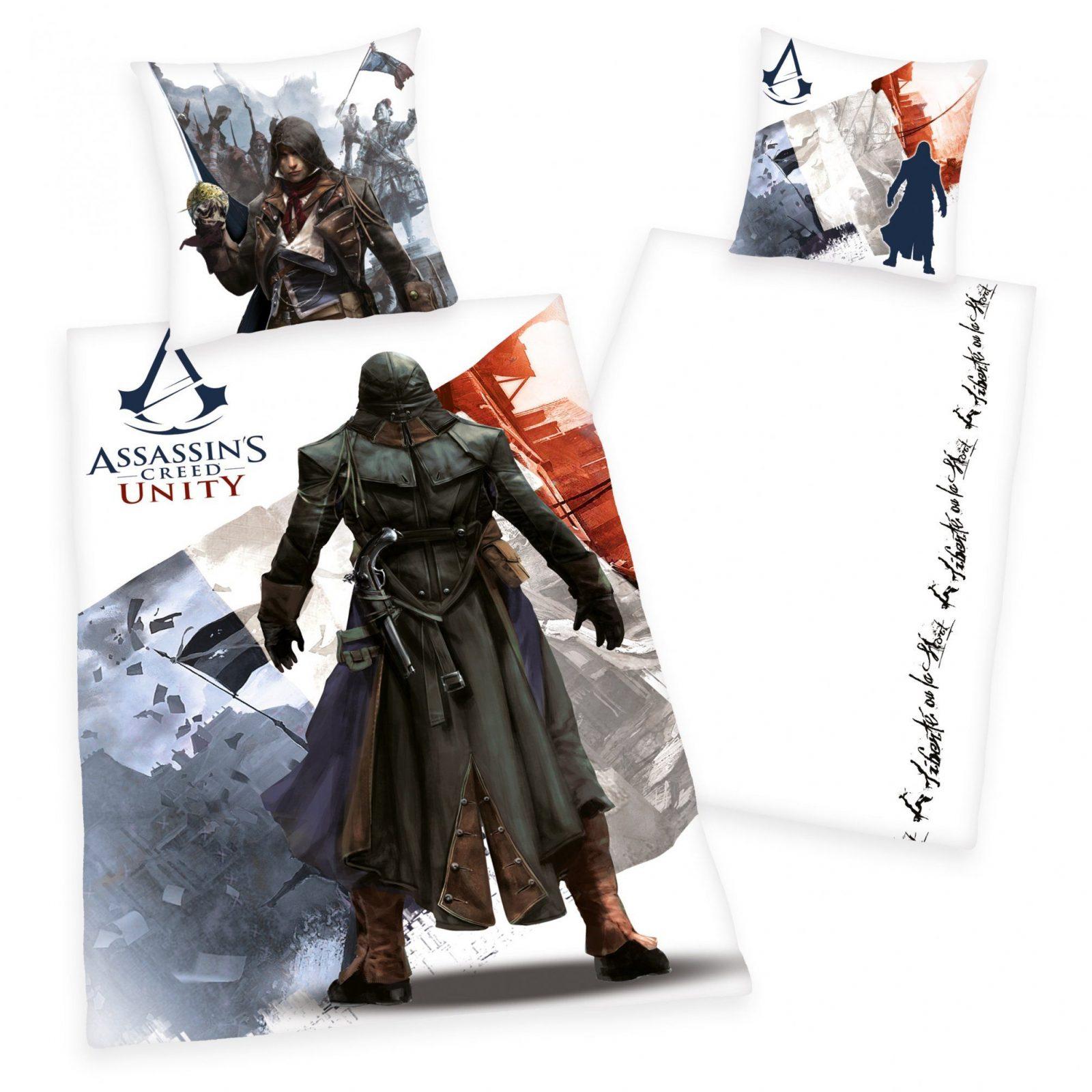 Assassins Creed Unity Bettwäsche  My Blog von Assassins Creed Bettwäsche Bild
