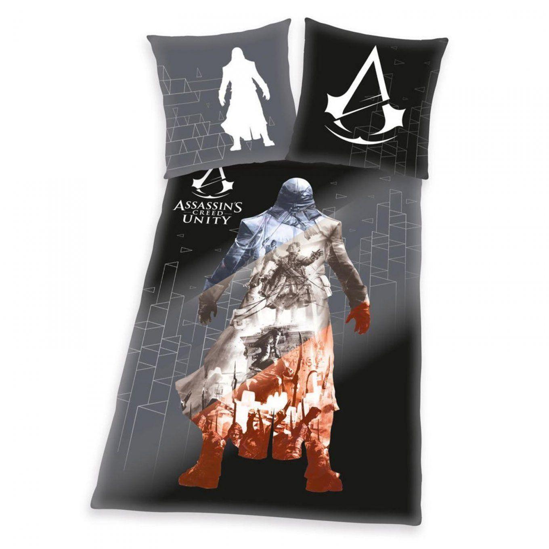 Assassin's Creed Unity Single Duvet Cover & Pillowcase Set 100 von Assassins Creed Bettwäsche Bild