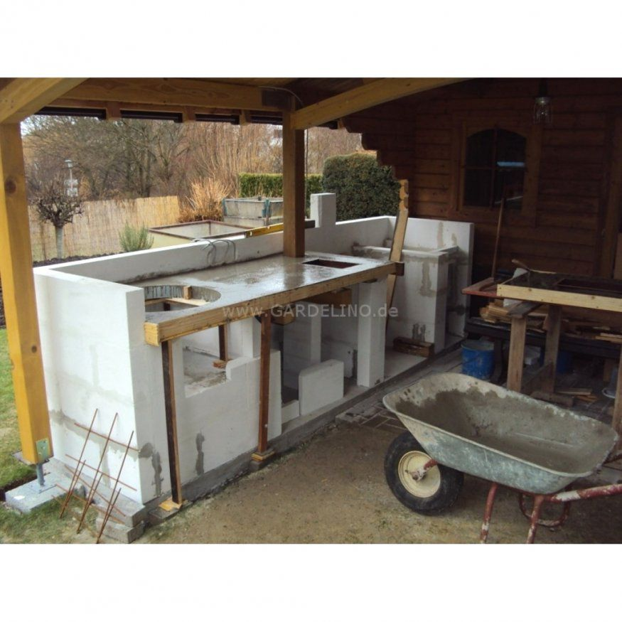 Ästhetische Inspiration Outdoor Küche Selber Bauen Garten Und von Outdoor Küche Selber Bauen Bild
