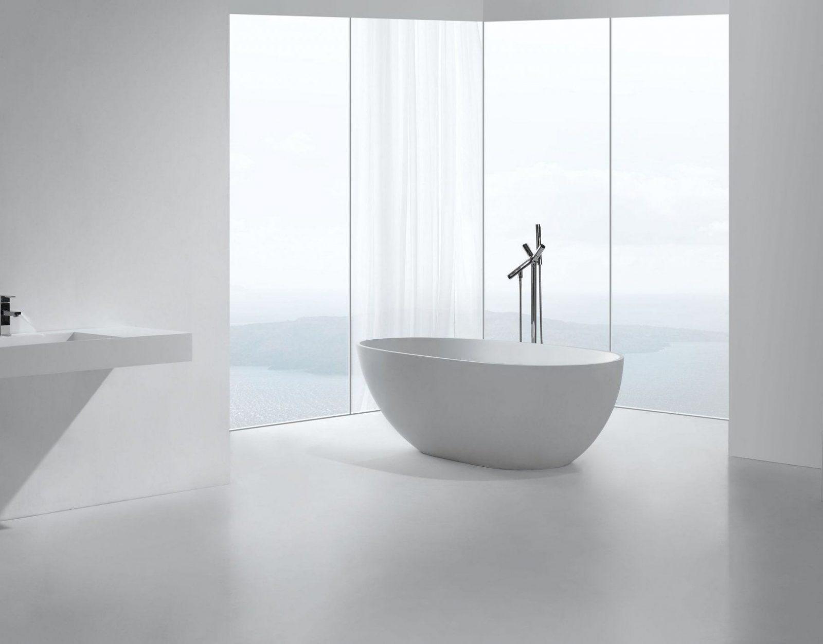 Atemberaubend Freistehende Badewanne Mineralguss Oder Acryl Grafffit von Freistehende Badewanne Mineralguss Oder Acryl Photo