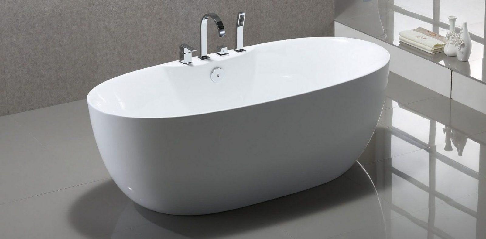 Atemberaubend Freistehende Badewanne Mit Integrierter Armatur von Badewanne Mit Integrierter Armatur Bild