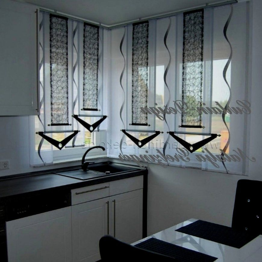 Atemberaubend Gardinen Für Küche Gros Kuche Moderne Scheibengardinen von Moderne Gardinen Küche Photo