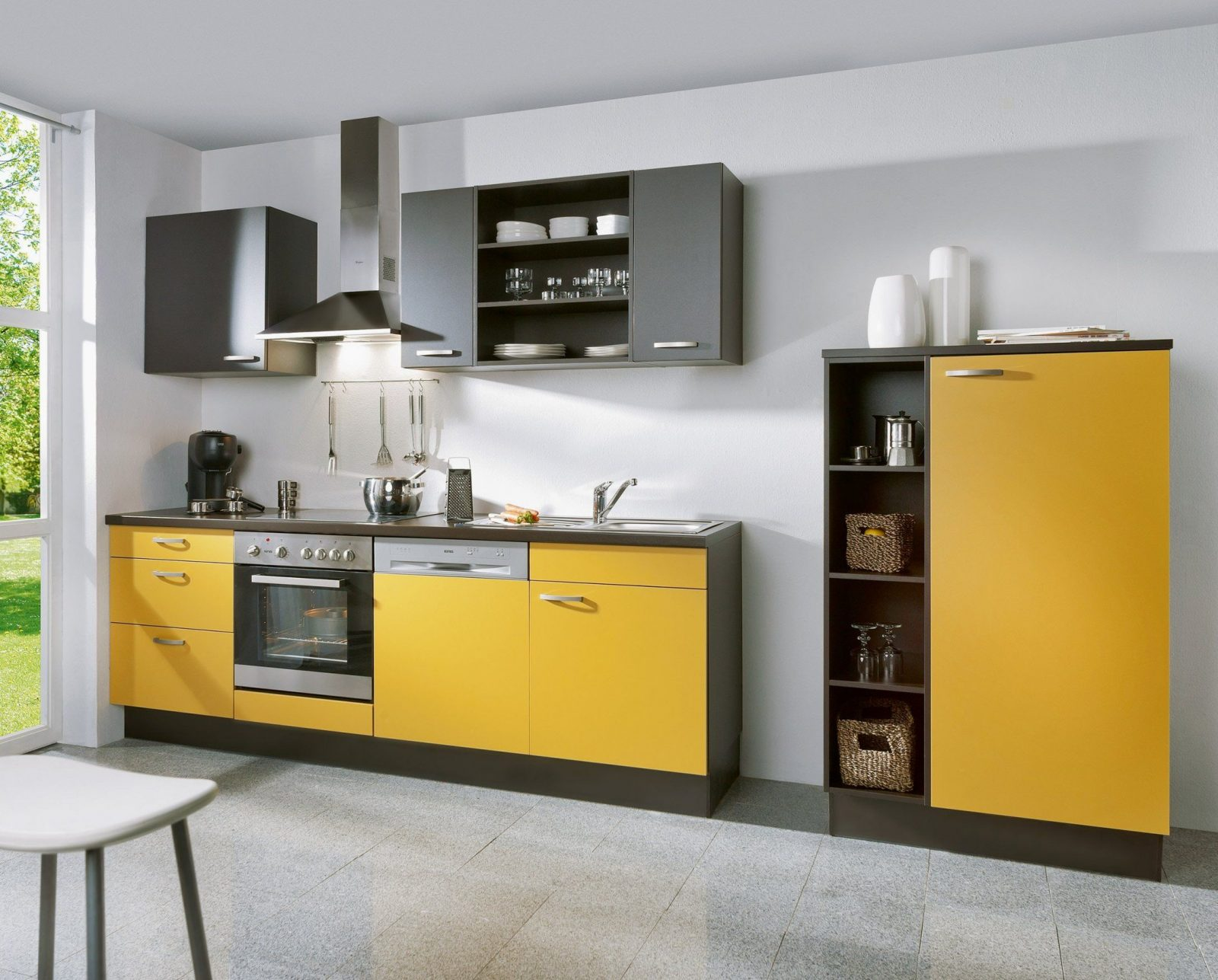 Atemberaubend Küchenzeile 240 Cm Mit Kühlschrank Kuchenzeile Geraten von Küchenzeile 240 Cm Mit Kühlschrank Photo