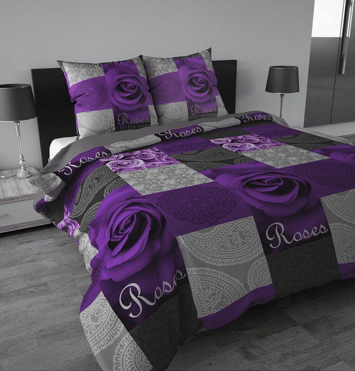 Atemberaubend Violette Bettwäsche 91Cem 2Bczvrl Sl1500 60755 von His Bettwäsche Lila Photo